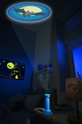 Haba  nachtlampje Zaklamp projector - Spokenuur 301424-3