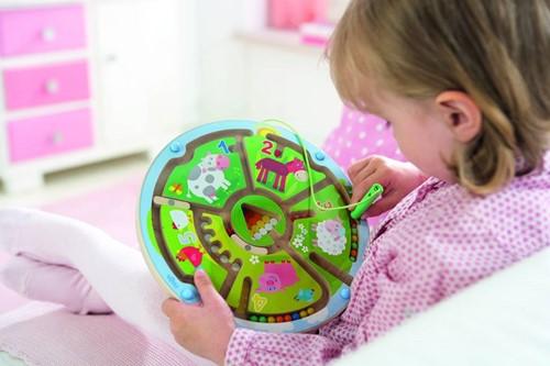 Haba  kinderspel Magneetspel Getallenlabyrint 301473-2