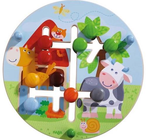 Haba  leerspel motoriekbord boerderijwereld-1