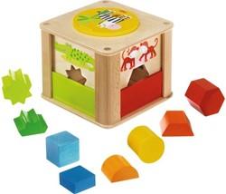 Haba  leerspel Sorteerbox Zoodieren 301701