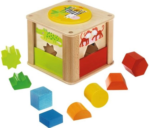 Haba  leerspel Sorteerbox Zoodieren 301701-1