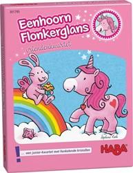 Haba kinderspel Eenhoorn Flonkerglans kwartet 301795