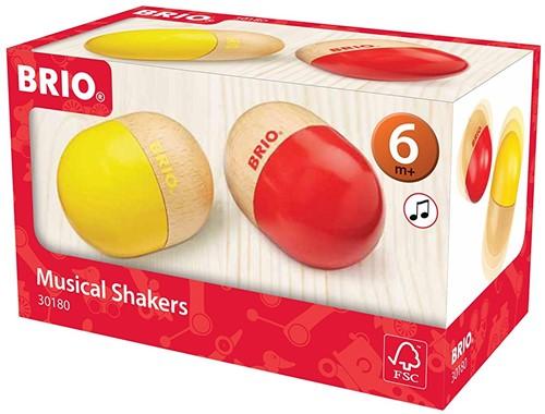 Brio houten muziekinstrument Muzikale eieren 30180-2
