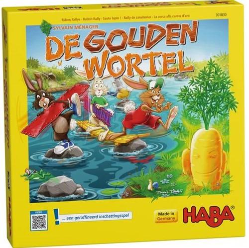 Haba  kinderspel De gouden wortel 301830-1