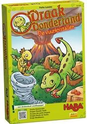 Haba  kinderspel Draak Dondertand - De vuurkristallen 301892