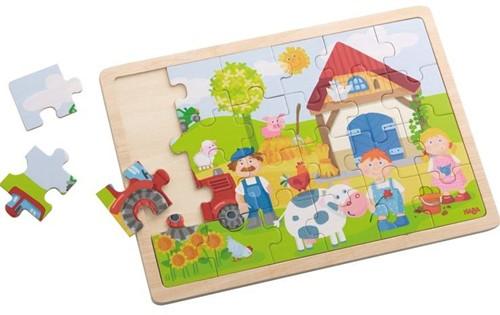Haba  houten legpuzzel Antons boerderij 301942-1