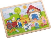 Haba  houten legpuzzel Antons boerderij 301942-2