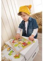 Haba  houten legpuzzel Antons boerderij 301942-3