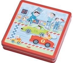 Haba  kinderspel Magneetdoos Snelle sportwagens 301948