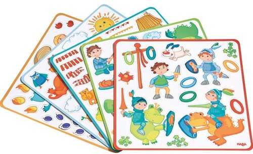 Haba  kinderspel Magneetdoos Drakenridder 301949-2