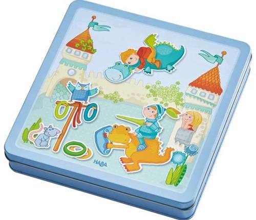 Haba  kinderspel Magneetdoos Drakenridder 301949-1