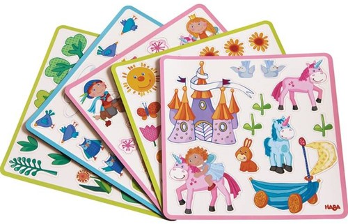 Haba  kinderspel Magneetdoos Feeentuin 301950-2
