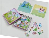 Haba  kinderspel Magneetdoos Feeentuin 301950-3