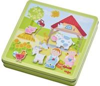 Haba  kinderspel Magneetdoos Peter en Paulines 301951-1