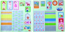 HABA Little Friends - Decoratieve kleefaccessoires voor poppenhuis