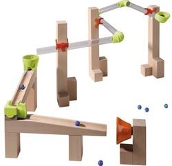 Haba  houten knikkerbaan set Basisdoos Race Base 302133