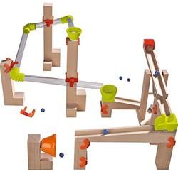 Haba  houten knikkerbaan set Basisdoos Sound Race 302135