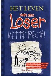 Kinderboeken  leesboek Het leven van een loser - Deel 2 Vette pech