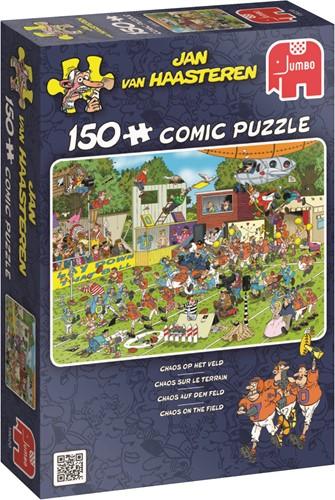 Jumbo puzzel Jan van Haasteren Chaos Op Het Veld - 150 stukjes