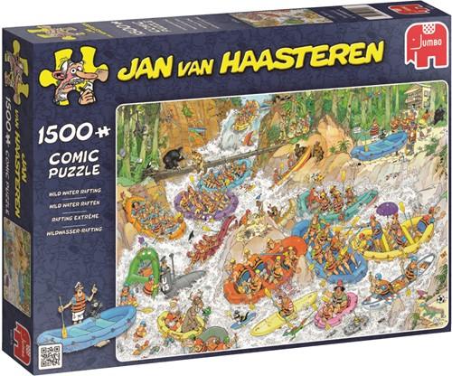 Jumbo puzzel Jan van Haasteren Wild Water Raften - 1500 stukjes