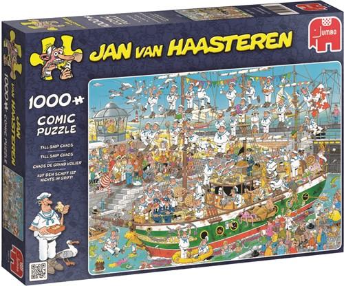 Jumbo puzzel Jan van Haasteren Tall Ship Chaos - 1000 stukjes