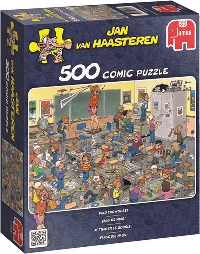 Jumbo puzzel Jan van Haasteren Vang de Muis - 500 stukjes