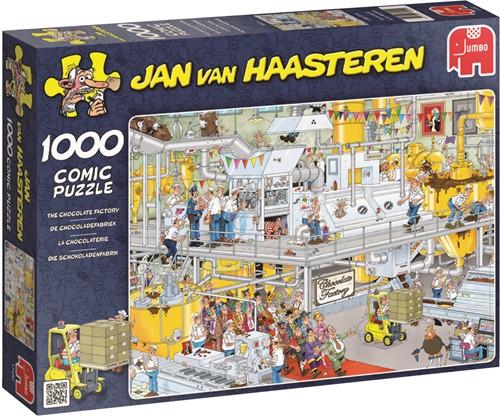 Jumbo puzzel Jan van Haasteren De Chocoladefabriek - 1000 stukjes
