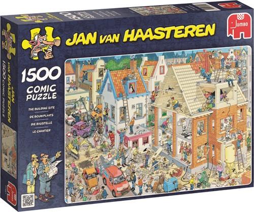 Jumbo puzzel Jan van Haasteren De Bouwplaats - 1500 stukjes