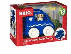 Brio  houten speelvoertuig Light & Sound Police Car