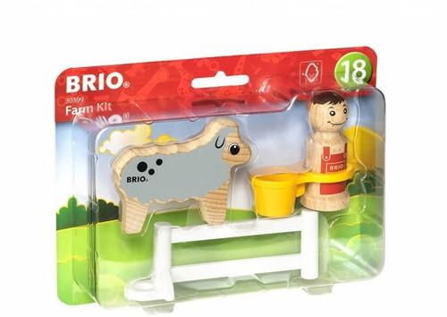 Brio  houten speelset Farm Kit
