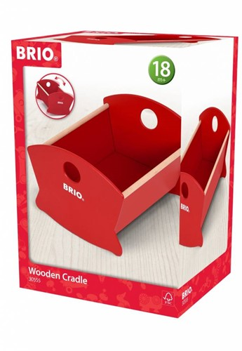 Brio  houten poppen meubel Wooden Doll Cradle