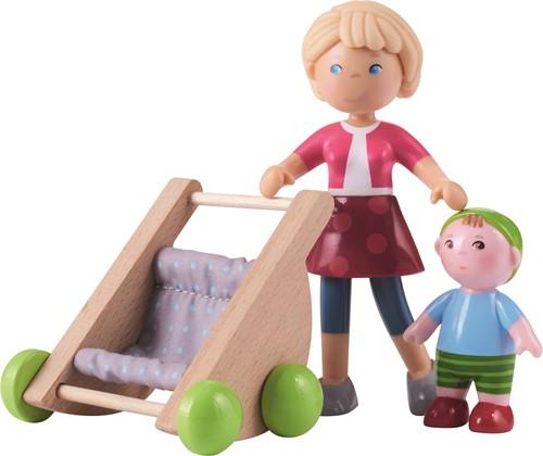 HABA Little Friends - Mama Melanie en baby Kilian