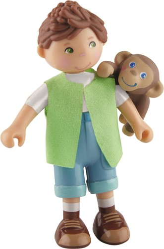 HABA Little Friends - Julius en baby aapje