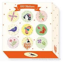 Djeco 100 Stickers Stickers Chichi
