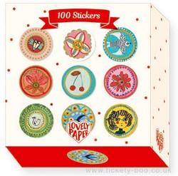 Djeco 100 Stickers Stickers Aurélia