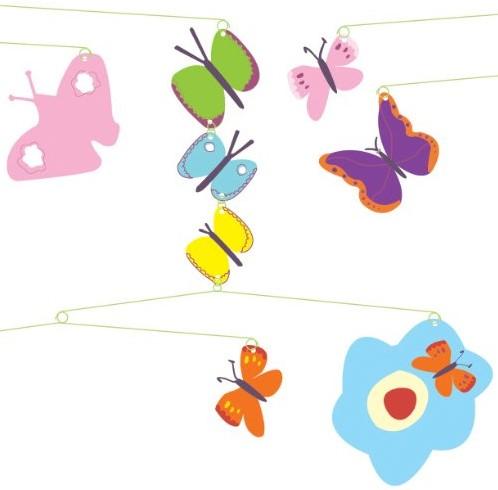 Djeco babymobiel Vlinders-2