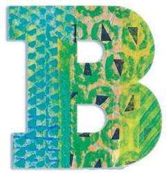 Djeco B - Peacock letter