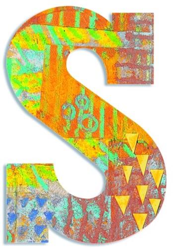 Djeco S - Peacock letter