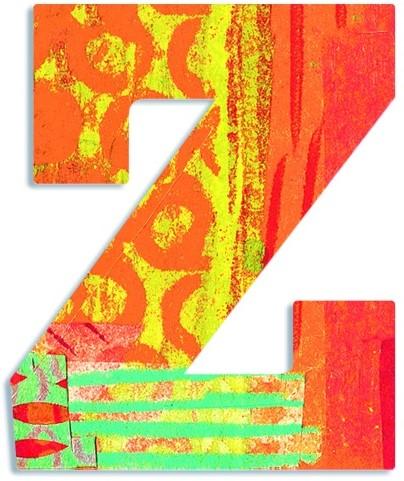 Djeco Z - Peacock letter