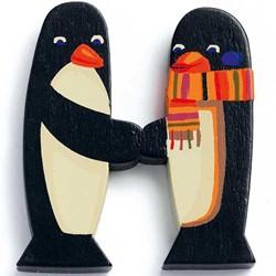 Djeco houten letter H - Animals