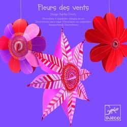 Djeco papieren bloemen decoratie