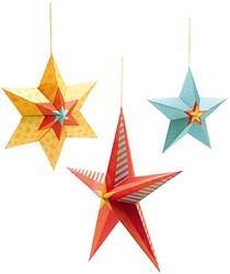 Djeco creatief knutselpakket hangende sterren