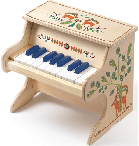Djeco Houten Elektronische Piano Animambo