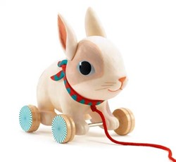 Djeco trekfiguur konijn Colin