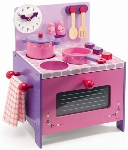 Djeco houten keukentje Violet-1