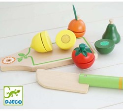 Djeco keuken accessoire Fruits and vegetables to cut
