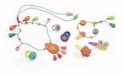Djeco Jeux d'imitation-Coquetteries Bijoux Perles de rosée