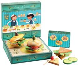 Djeco keuken accessoires lunchroom van Emile en Olive