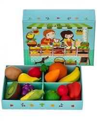 Djeco keuken accessoire Louis & Clementine - 12 pcs