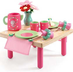 Djeco houten keukentje Lili Rose's lunch set
